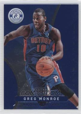2012-13 Totally Certified Totally Blue #148 - Greg Monroe /299