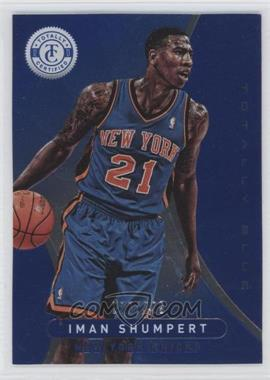 2012-13 Totally Certified Totally Blue #18 - Iman Shumpert /299