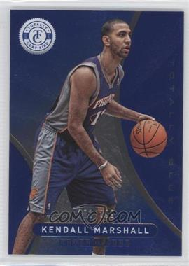2012-13 Totally Certified Totally Blue #197 - Kendall Marshall /299