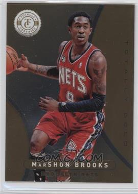 2012-13 Totally Certified Totally Gold #214 - MarShon Brooks /25