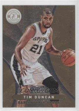 2012-13 Totally Certified Totally Gold #58 - Tim Duncan /25