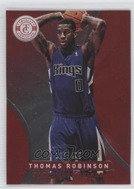 2012-13 Totally Certified Totally Red #10 - Thomas Robinson /499