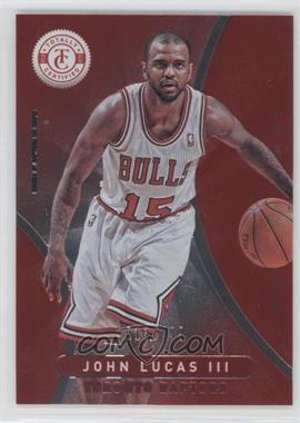 2012-13 Totally Certified Totally Red #133 - John Lucas III /499