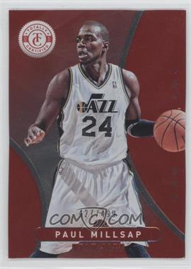 2012-13 Totally Certified Totally Red #147 - Paul Millsap /499