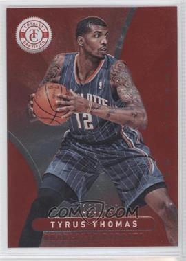 2012-13 Totally Certified Totally Red #187 - Tyrus Thomas /499