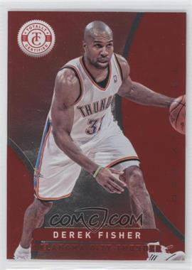 2012-13 Totally Certified Totally Red #267 - Derek Fisher /499