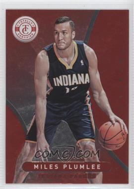 2012-13 Totally Certified Totally Red #278 - Miles Plumlee /499