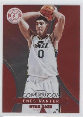 2012-13 Totally Certified Totally Red #38 - Enes Kanter /499