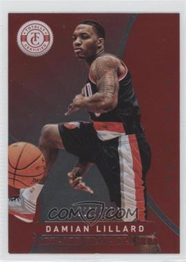 2012-13 Totally Certified Totally Red #70 - Damian Lillard /499