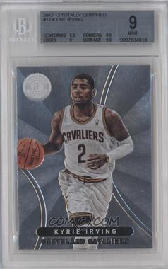 2012-13 Totally Certified #12 - Kyrie Irving [BGS 9]