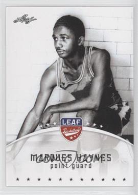2012 Leaf - [Base] #MH1 - Marques Haynes