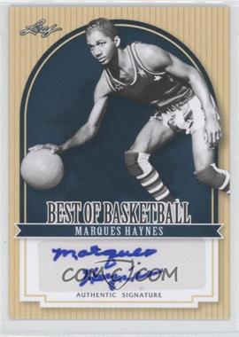 2012 Leaf Best of Basketball - [Base] #MG1 - Marques Haynes