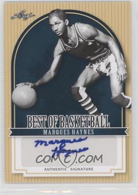 2012 Leaf Best of Basketball #MG1 - Marques Haynes