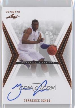 2012 Leaf Ultimate - Base Autographs #BA-TJ1 - Terrence Jones