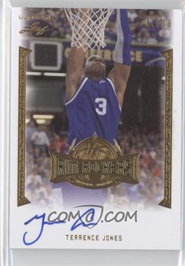 2012 Leaf Ultimate Rim Rockers Gold #RR-TJ1 - Terrence Jones /10