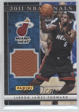 2012 Panini Father's Day NBA Finals Basketballs #4 - Lebron James