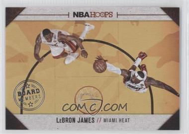 2013-14 NBA Hoops Board Members #20 - Lebron James
