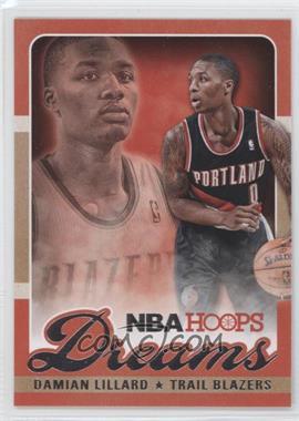2013-14 NBA Hoops Dreams #23 - Damian Lillard