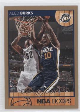 2013-14 NBA Hoops Gold #165 - Alec Burks