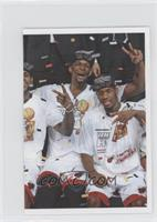 Lebron James, Chris Bosh, Norris Cole