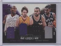 Kobe Bryant, Tim Duncan, Pau Gasol, Tony Parker /99