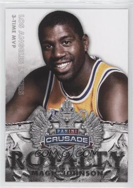 2013-14 Panini Crusade Royalty #25 - Magic Johnson