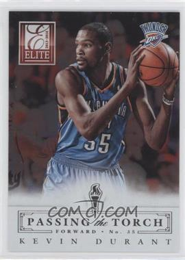 2013-14 Panini Elite - Passing the Torch #2 - George Gervin, Kevin Durant