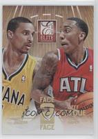 George Hill, Jeff Teague /24