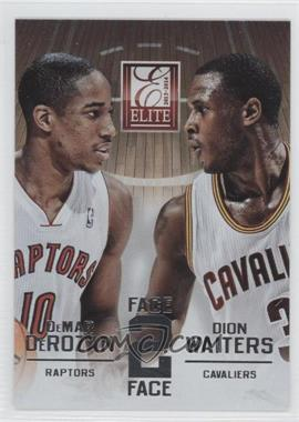 2013-14 Panini Elite Face 2 Face #17 - DeMar DeRozan, Dion Waiters
