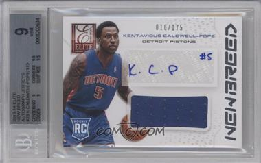 2013-14 Panini Elite New Breed Materials Signatures #NB-KC - Kentavious Caldwell-Pope /175 [BGS 9]