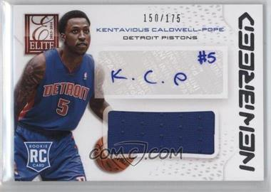 2013-14 Panini Elite New Breed Materials Signatures #NB-KC - Kentavious Caldwell-Pope /175