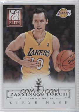 2013-14 Panini Elite Passing the Torch #17 - Goran Dragic, Steve Nash