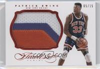 Patrick Ewing /15
