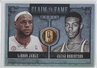 LeBron James, Oscar Robertson /10
