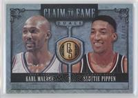 Scottie Pippen, Karl Malone /10