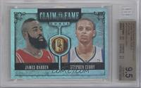 James Harden, Stephen Curry /10 [BGS 9.5]