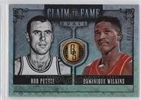 Dominique Wilkins, Bob Pettit /10