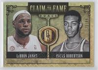 Oscar Robertson, LeBron James /49