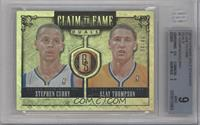 Klay Thompson, Stephen Curry /49 [BGS 9]