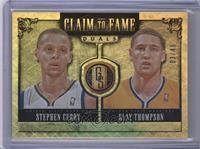 Klay Thompson, Stephen Curry /49