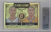 Klay Thompson, Stephen Curry /49 [BGS8.5]