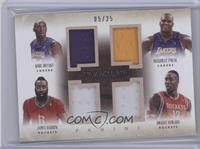 Dwight Howard, James Harden, Kobe Bryant, Shaquille O'Neal /25
