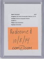 Jason Richardson [REDEMPTION Being Redeemed] #/25