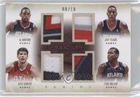 Al Horford, Jeff Teague, Kyle Korver, Paul Millsap /10
