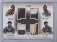 DeMarcus Cousins, Derrick Favors, John Wall, Paul George /10