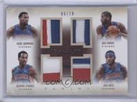 Andre Drummond, Brandon Jennings, Greg Monroe, Josh Smith /10
