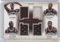 Avery Johnson, David Robinson, Dennis Rodman, Doc Rivers /25