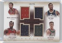 Dennis Schroder, Michael Carter-Williams, Nate Wolters, Trey Burke /25