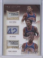 Isiah Thomas, Joe Dumars, Vinnie Johnson /1