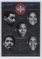 Chet Walker, Hal Greer, Luke Jackson, Wali Jones, Wilt Chamberlain